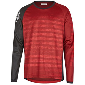 Protective Live & Loud LS Shirt Herren dark red